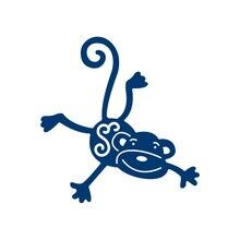 DiyArts Dies Monkey Metal Cutting New 2019 for Animal Scrapbooking Card Decor Craft Embossing Peper Die Cut