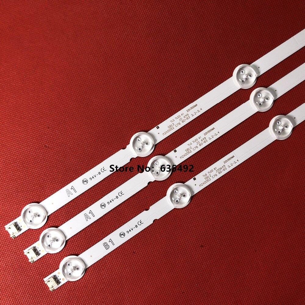3PCS A1 * 3pcs Retroiluminação LED Matriz LG 32