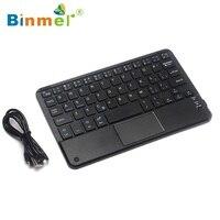 Binmer Bluetooth Touchpad Teclado Inalámbrico Para Todos 7-10 pulgadas Ventanas Android Tablet Teclado Wholesale precio Dec17