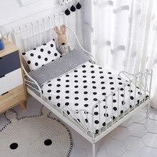 Pcs ชุดผ้าฝ้ายทอเตียงประกอบด้วยปลอกหมอนผ้านวมผ้าคลุมเตียงไม่มีฟิลเลอร์ 3 ฟรีเรือเครื่องนอนเด็ก
