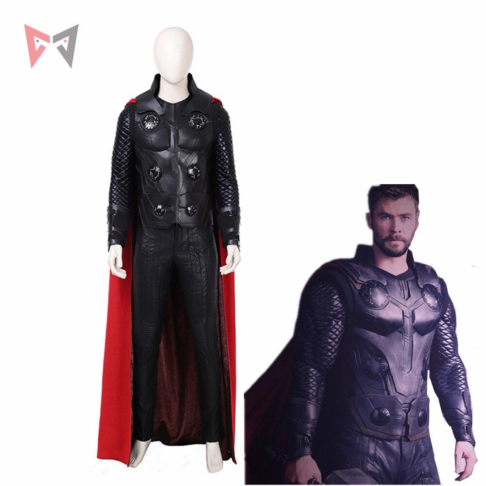 MMGG New movie Thor cosplay The Dark World  Thor Odinson cosplay Costume custom made set High Quality