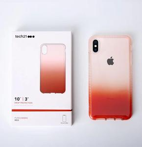 Image 3 - Pure Ombre Case For Apple iPhone XR XS MAX Effect Drop Protection Slim Profile Tech21 Case For Apple iPhone XS Max 11 Pro Max