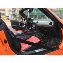 lsrtw2017 durable car interior floor mat for mazda mx-5 mx5 Roadster Miata 2005-2020 2019 2018 2017 2016 2015 accessories new engine timing cover b660 10 501e for mazda mx 5 miata 1999 2005 protege