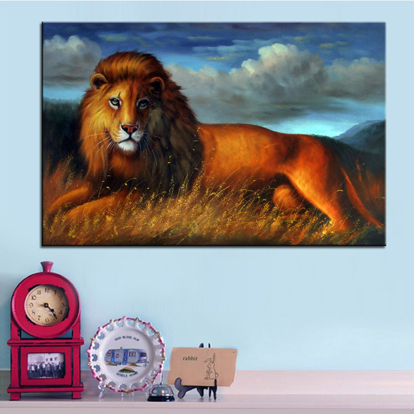 Arte da parede, Decoração da parede, Pintura de parede o rei dos leões  impressão pintura a óleo digital, Pintura agradável para a parede imagem no  frame f8f0cdb007