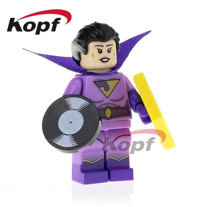 PG412 Super Heroes Batgirl Wonder Twins Zan Jayna General Zod Dolls Building Blocks Best Education Model Toys Gift For Children