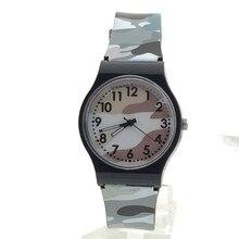 Novel Design Hot Camouflage Children Watch Quartz Wristwatch For Girls Boy May