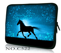 Running Horse Laptop Sleeve Bag Notebook Case Computer Cover For Ipad Tablet PC 9 7 10