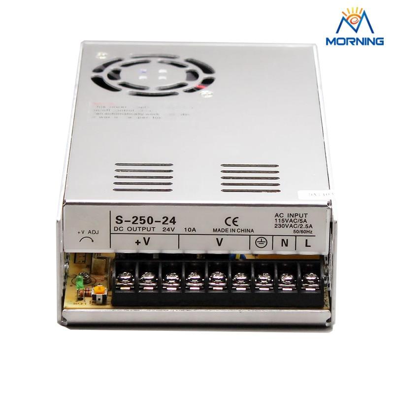 S-250 Cooling fan 250W energy-saving single switching power supply 12V 24V 36V 48V s 350 24 350w 24v non waterproof aluminium switching power supply cooling fan