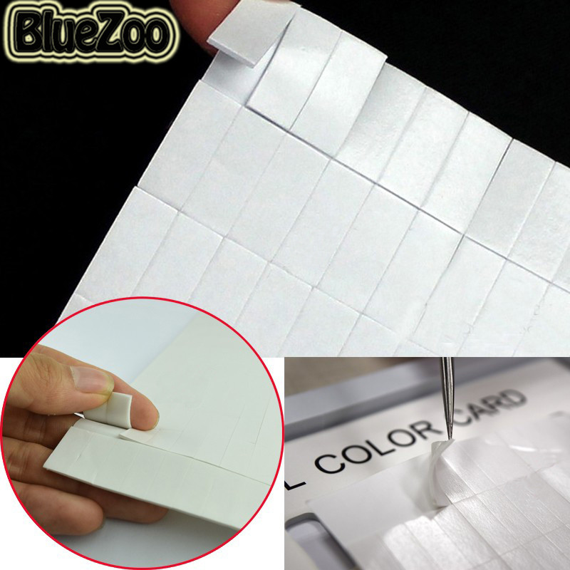 BlueZoo 260pcs Sponge Double-sided Adhesive Fixing Sticker For Nail Multi-Purpose Adhesive Glue Clay Sticker Display Color Card цены