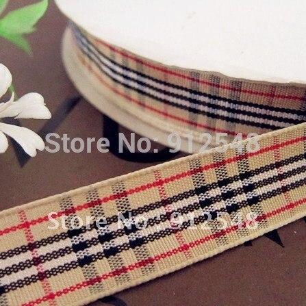 5 8 15mm width MOQ is 1 yard styles polyester scottish font b tartan b