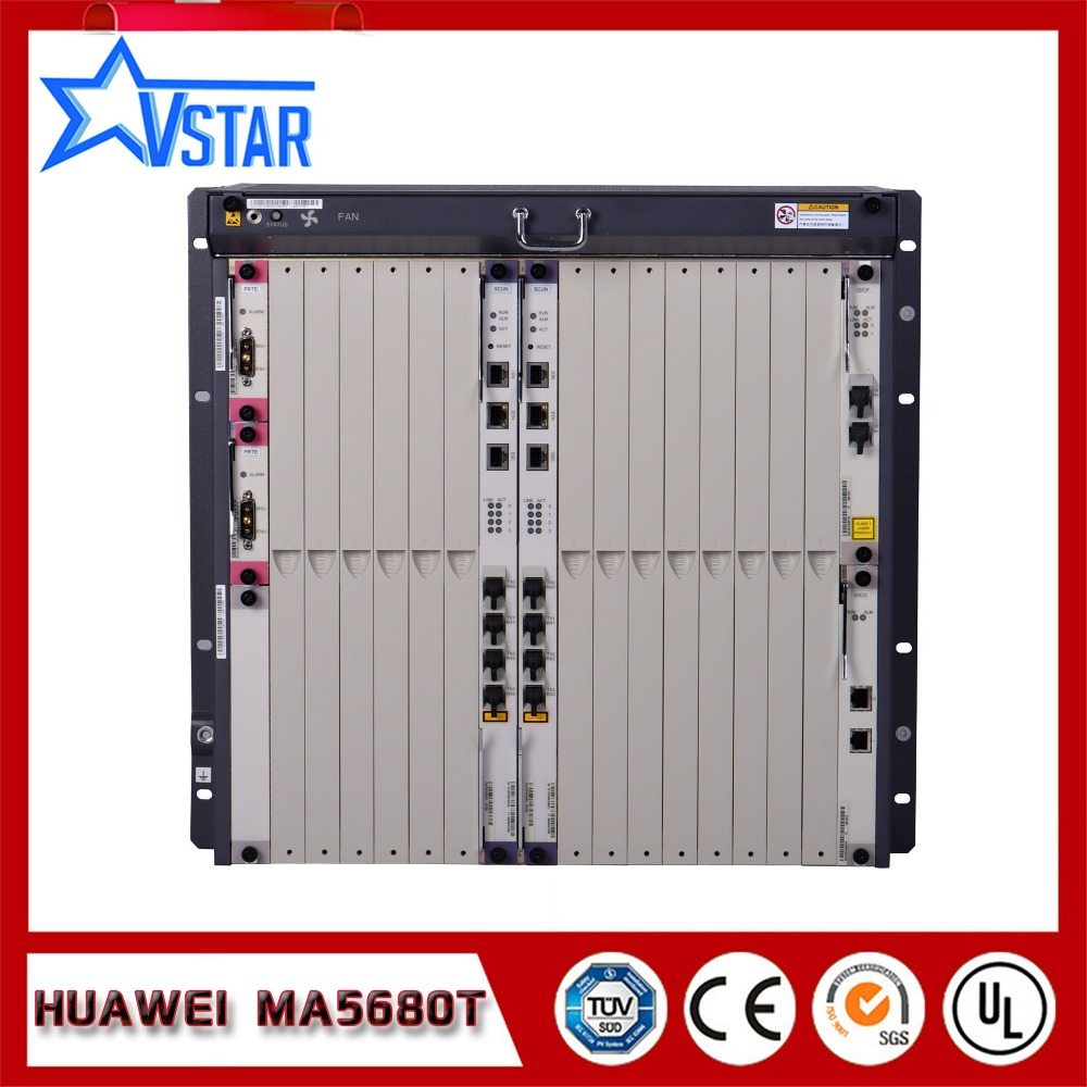 מקורי Huawei MA5680T OLT בציוד סיב אופטי עם SCUN - ציוד תקשורת