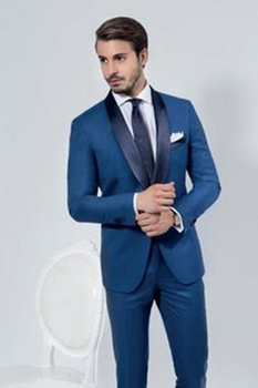 New Tailor Made Best Man Groomsmen Suit 2 Pieces Men Wedding Groom Tuxedo Party Suit C21