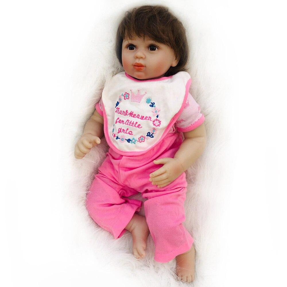 OtardDolls 20 zoll bebe reborn puppe Weiche Vinyl Silizium lebensechte reborn baby puppen Spielzeug für Mädchen Geburtstag Geschenk-in Puppen aus Spielzeug und Hobbys bei  Gruppe 1