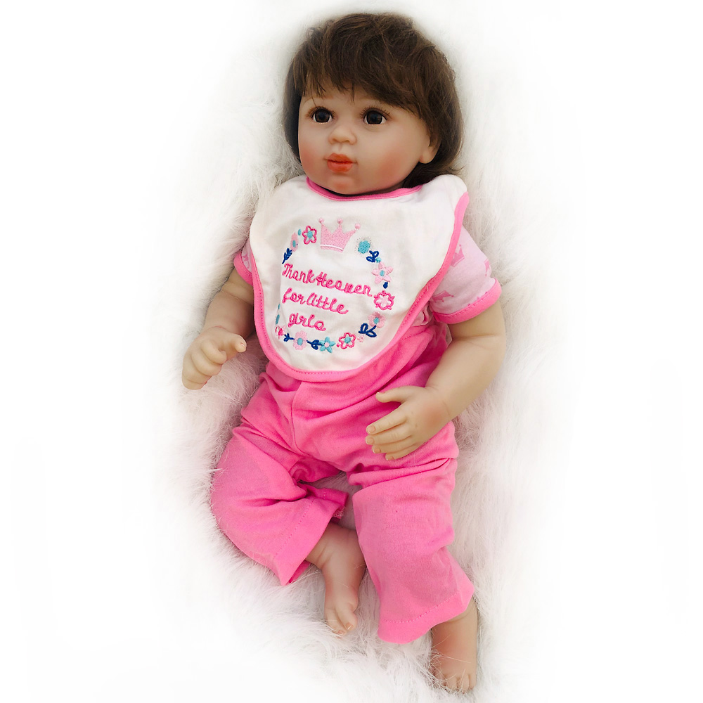Otarddolls 20 인치 bebe reborn doll 소프트 비닐 실리콘 lifelike reborn baby dolls 장난감 소녀 용 생일 선물-에서인형부터 완구 & 취미 의  그룹 1