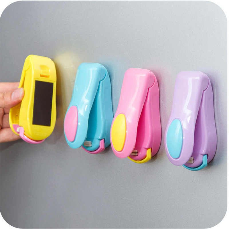 Portable Plastic Handy Heater Bag Sealer Capper Mini Electric Heat Sealing Machine Food Saver Storage Packing Plastic Bag