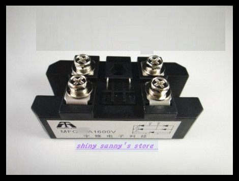 1pieces MFQ100A 1600V Silicon Controlled Module Diode Bridge Rectifier 100A Amp Brand New