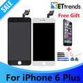 5PCS/LOT Good Quality LCD display for iphone 6 plus 5.5 Complete LCD Screen & Digitizer Assembly DHL Free Shipping