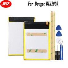 JRZ Doogee BL12000 /BL12000 프로 전화 배터리 12000mAh Hight 용량 3.8V 최고 품질의 교체 배터리 + 도구