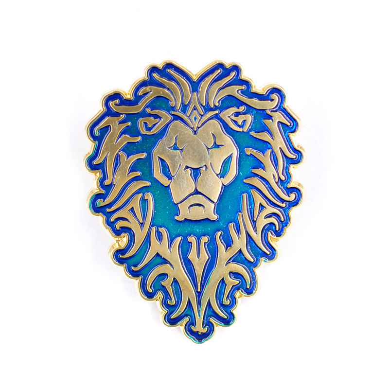 New 4 Styles Game WoW Alliance Lion Horde Badge Emblem ...