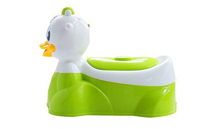 Assento plástico do toalete da criança do