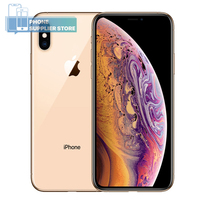 Original Apple iPhone XS Unlocked 4G Smartphone 5.8 inch Apple A12 64/256/512GB ROM Face ID 12MP Dual Camera WiFi Mobile Phone