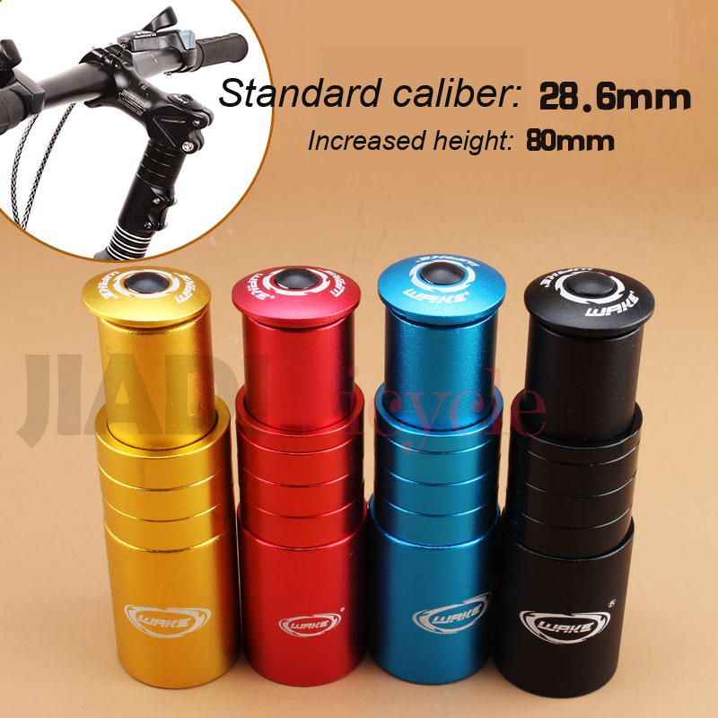 Aluminum Alloy Bicycle Stem Increased Control Tube Extend Handlebar Stem Heighten Bike Front Fork Bicycle Parts Accessories стоимость