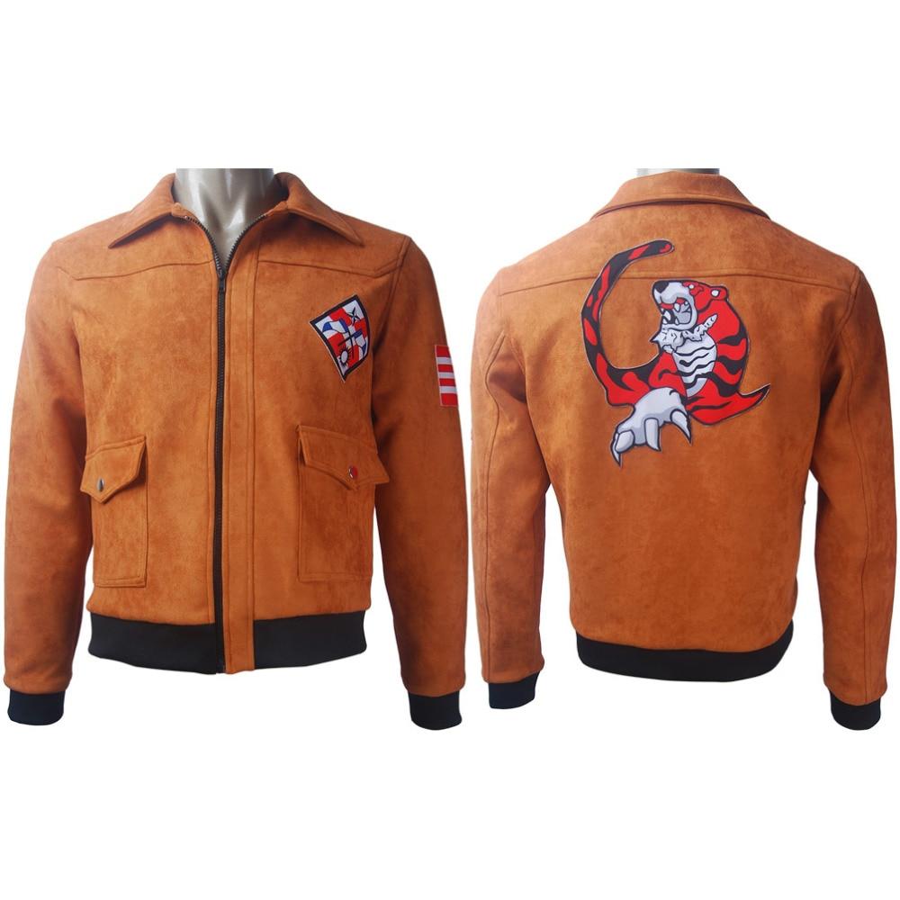 Shenmue III Ryo Hazuki Cosplay Jacket Coat Outwear Halloween Costume Game Oufit X'mas Christmas Birthday Gift Toys Carnival