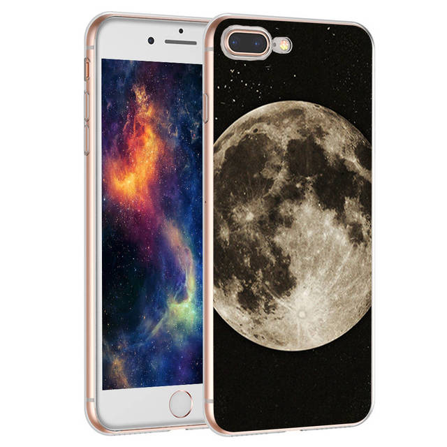 coque iphone 8 dual screen space