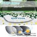 1.56 Свободной Форме Мультифокальные Солнцезащитные очки Переход Объектив Фотохромные Прогрессивные Линзы