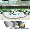 1.56 Lentes Progressivas Fotocromáticas Multifocal Prescrição Óculos de Sol Lente de Transição de Forma Livre