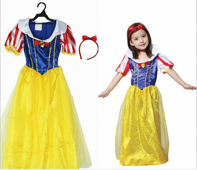 free shipping christmas halloween costume snow white princess mononoke also queen princess series