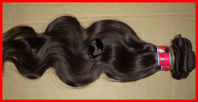 "Hair Ring great Hair Products High Quality Natural Hair Extension, Body Wave 1 Piece/lot, 14""-26"" Machine Weaving Hair Weft"