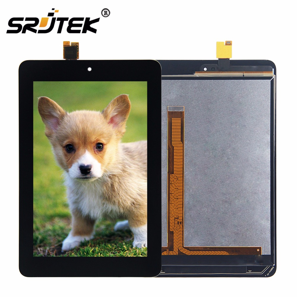 Srjtek 7.85 For Xiaomi Mi Pad 3 Mipad 3 LCD Display Matrix Touch Screen Digitizer Assembly Tablet PC Replacement Black New new black 7 9 inch panel for xiaomi mipad 1 mi 1 lcd display touch screen digitizer full assembly tablet pc replacement parts