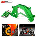 For Kawasaki Z800 Z 800 2013-2015 Motorcycle accessories CNC Aluminum Green Panel Left Engine Guard Chain Cover Protection