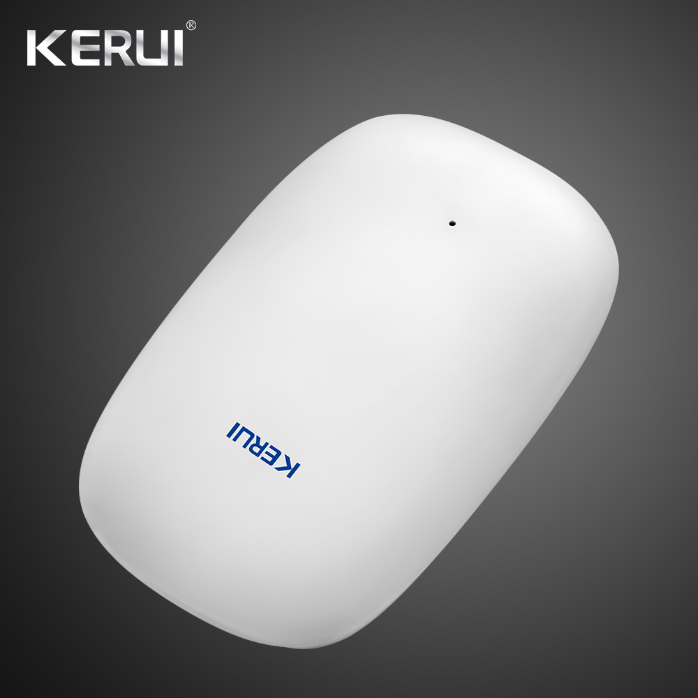 2019 Newest KERUI Z31 Wireless Vibration Detector Shock Sensor For Home Alarm System built-in Antenna Smooth Appearance 1