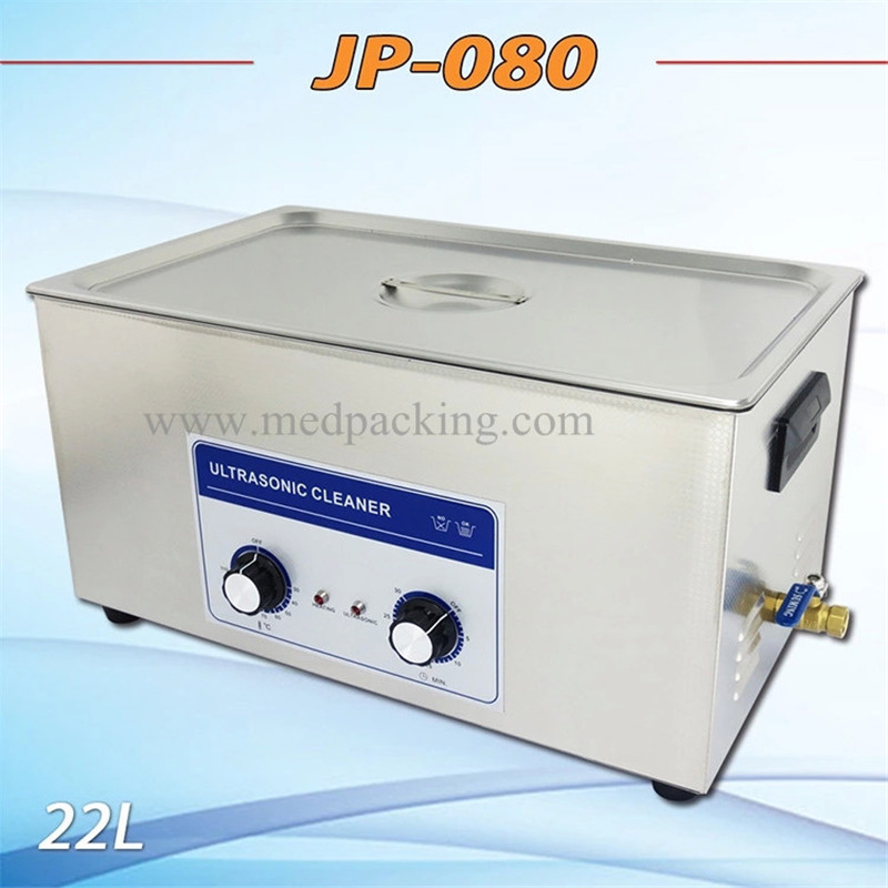 Ultrasonic cleaner JP-080 22l clean computer motherboard electronics lens cleaning 20L upgraded version