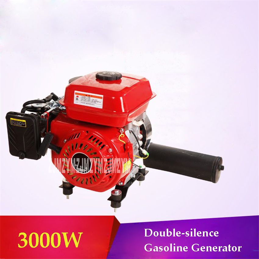New Double-silencer 3000r/min 3000W Gasoline Generator Range Extender Process Controller For 48V/60V/72V Electric Motor Vehicle hp 2530 8