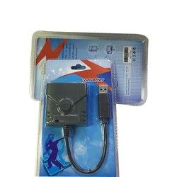 10 sztuk USB wysokiej jakości kontroler Gamepad konwerter Adapter złącze dla PS2 do PS3/PS4 joysticki dla Playstation 3/4