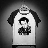 sid vicious natural born punk vintage fashion high quality tee shirt men women size