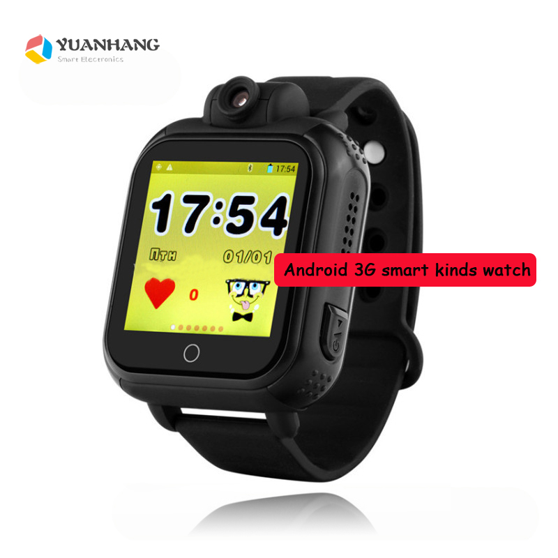 Smart Remote Camera GPS LBS WIFI Location 3G SOS Call Monitor Tracker Alarm Phone Watch Wristwatch for Kids Elder Child Students smart remote camera gps lbs wifi location 1 54 touch screen kid elder child 3g sos call monitor tracker alarm watch wristwatch