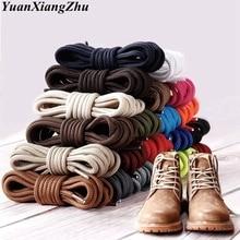 1 пара круглых полиэфирные шнурки для ботинок однотонные классические ботинки martin шнурки повседневные спортивные ботинки обувь на шнуровке 90 см/120 см/150 см 21 цвет