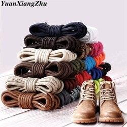 1 para okrągłe sznurowadła poliester solidne klasyczne buty do kostek Shoelace Casual sportowe buty buty koronkowe 90 cm/120 cm/150 cm 21 kolorów