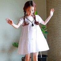 Korean New 2018 Princess Baby Dress Girls Summer Kids Cotton Dresses Brand Children Girl Dresses Toddler