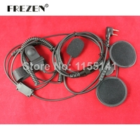 New 2014 Open Motorcycle Helmet Headset Earpiece For Ken Wood Baofeng Puxing Wouxun Ham Radio With