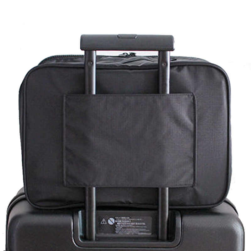 Wasserdichte Multifunktions Frauen Organizer Handtasche Reisetasche Gepäck Reise Seesack Große M/L 2 Größe Folding Taschen Reise bolsa