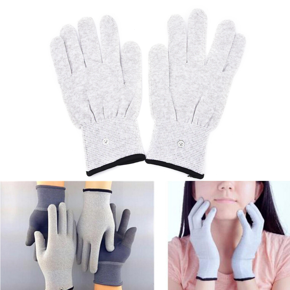 Breathable Conductive Electrotherapy Massage Electrode Gloves