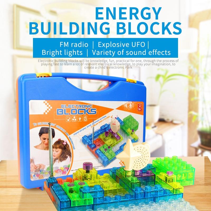 Diy Kits Integrated Circuit Building Blocks Snap Circuit Model Toys