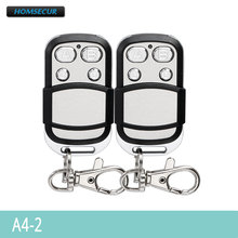 HOMSECUR A4-2 2Pcs Wireless Remote Control for Our 433Mhz GSM Alarm System