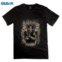 GILDAN מכירת חמה Lovecraft ו Felis החבר O-צוואר חולצת t של גברים חולצה נהדר