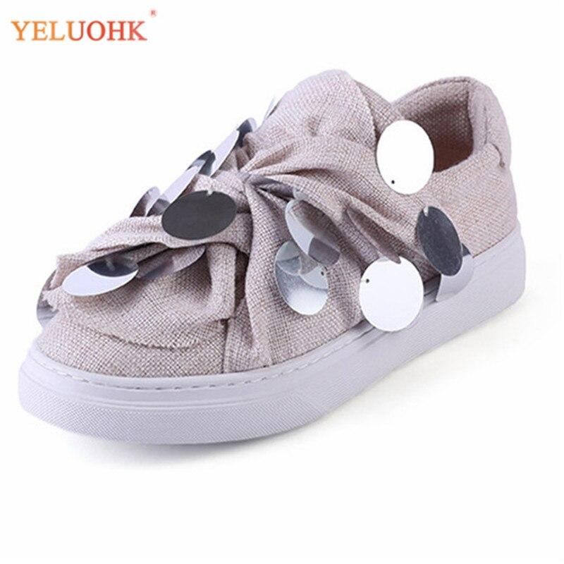 Chaussures plates femmes respirant 2018 printemps toile chaussures femmes mocassins de haute qualité mocassins femmes appartements